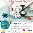 Silicone Nurse Watch Brooch Tunic Fob Watch Nursing Nurses Pendant Pocket Clip