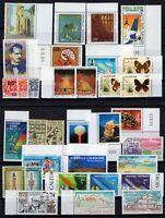 132825/ NEW CALEDONIA – YEARS 1987 - 1993 MINT MNH MODERN LOT – CV 132 $