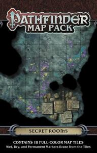 Pathfinder Map Pack SECRET ROOMS Dungeon Tiles D&D Paizo New Sealed!