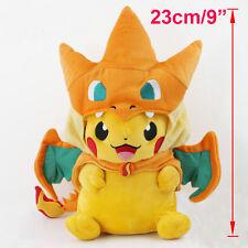 "9"" Pokémon Pikazard Pikachu Stofftier Charizard Plüschtiere Spielzeug Figur Doll"