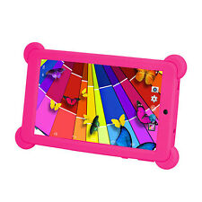 "Cute Silicone Soft Gel Case Cover For 7"" Android 4.4 Tablet PC Kids"