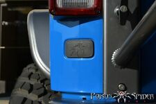 Poison Spyder Customs Jeep Wrangler JK Rear License Plate Delete Cover 17-04-112