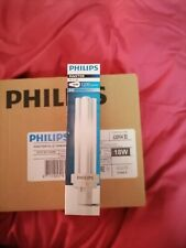 10x Philips Master Pl-c 2p18w 840 socle G24d-2 18 watts