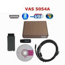 Full Chip VAS5054A ODIS 3.0.3 OBD2 Bluetooth Diagnostic Tool UDS OKI For VW Audi