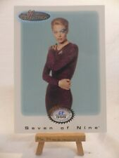 the women of Star Trek In Motion extension archive card S1 Seven of Nine 68/999