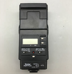 Vivitar Zoom Thyristor 5200 Electronic Flash - Fast Free Shipping - A30