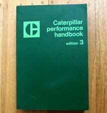 CAT Caterpillar 1973 Performance Handbook Edition 3 Manual specifications book