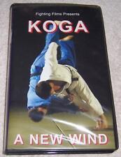 Koga A New Wind VHS Video Toshihiko Judoka Martial Arts