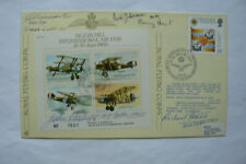 RAF JSF23 FDC SIGNED BY 4 BATTLE OF BRITAIN VETS. INCL., EDWARDS, KEATINGS