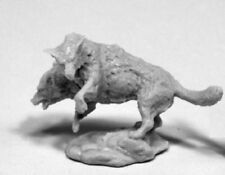 1 x DEATH DOG - BONES REAPER figurine miniature jdr rpg d&d chien cerbere 77407