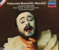 Cavalleria Rusticana, I Pagliacci / Pavarotti, Freni, Gavazzeni, Patanè - CD