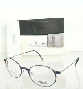 Brand New Authentic Silhouette Eyeglasses SPX 2908 75 6710 Titanium Frame 48mm