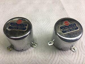 pair 1950's Japan input transformers 600 ohm to 50K ohm Tayaonkyo Denki Dokorder