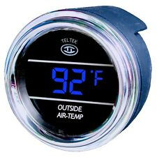 Teltek Auto Thermometer Gauge for Trucks and Cars for Kenworth 2005 or previous
