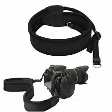Neoprene Shoulder Neck Strap for Canon Nikon Sony Olymus Pentax DSLR Camcorder