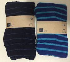GAP Men's 100% Cotton Elastic Waist Functional Fly Boxers Brief Underwear SZ M