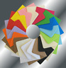 "6"" Square Coloured Envelopes 155x155mm Crafts Greeting Cards & Party Invitations"