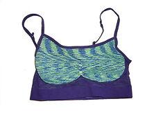 NEU Crivit Sport Bustier Gr. S 36 / 38 lila-grün-blau !!