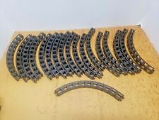 ROKENBOK Lot of 18 BLACK Large Curved Building BEAMS 11X1 MONORAIL TRACKS