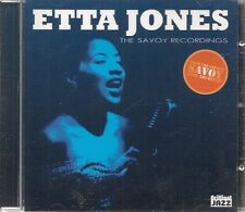 CD ALBUM 10 TITRES--ETTA JOMES--THE SAVOY RECORDINGS