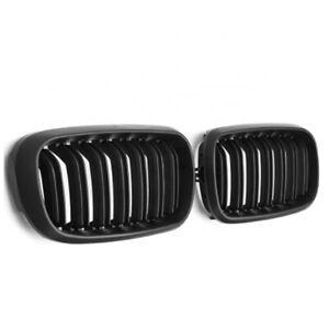 M Style Matt Black Double Slat Grilles Suitable For BMW  X5 F15 & X6 F16