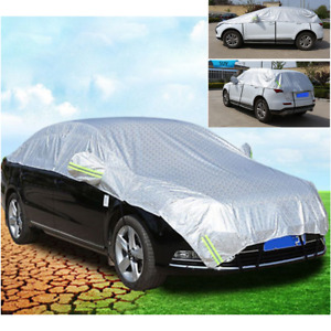 1Pcs Semi-body Cover Sunshade Dustproof Scratchproof Fit For Car Body Protect
