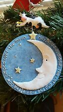 Baby's First Christmas Ornament NEW Cow Jumped Over Moon Babies no date Nursery