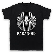SABBATH UNOFFICIAL PARANOID BLACK HEAVY METAL ROCK T-SHIRT ADULTS & KIDS SIZES