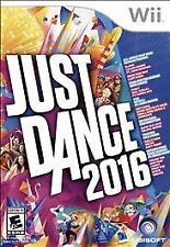 JUST DANCE 2016~Nintendo~Wii Video Game~BRAND NEW~MFR SEALED~FREE SHIPPING~MINT