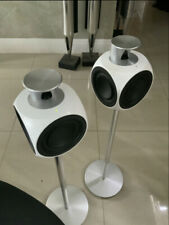 Bang & Olufsen B&O Beolab 3 White Active Speakers with Floor or table stands