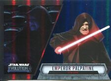 Star Wars Evolution 2016 Blue Parallel Card #49 Emperor Palpatine - Sith Lord