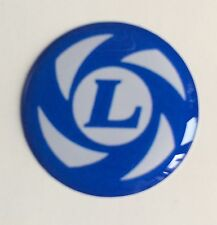 50 mm Mini Leyland Résine Bombée 3D-Wheel Cap sticker badge Slot MAGS