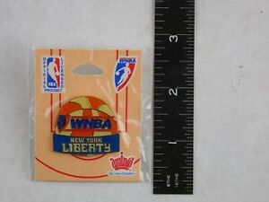 WNBA Basketball New York Liberty Pin Official License Product Amino Co.  New