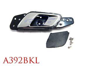 LEFT FRONT INNER DOOR HANDLE BLACK CHROME FOR FORD PX RANGER 2012 20 MAZDA BT50