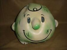 VERY RARE VINTAGE 1954 PEANUTS PIG PEN RUBBER HEAD COSTUME MASK UFS INC.