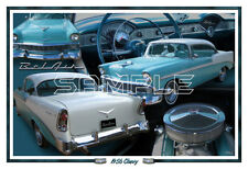 1956 Chevy BelAir Poster Print
