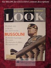 LOOK August 30 1960 BENITO MUSSOLINI SIMONE SIGNORET JACK LALANNE