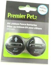 Pack of 2 Premier Pet Guardian PetSafe 6V Batteries Gac11-16351 11/29