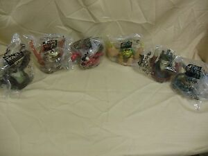 Star Wars Taco Bell, Pizza Hut, KFC Toppers lot of 6 Collectible PCS 022514ame