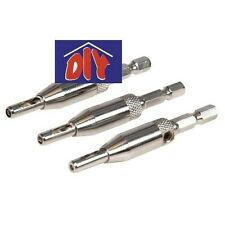 Silverline 380647 Hinge Drill Bit Set 3pce 2-3.6mm