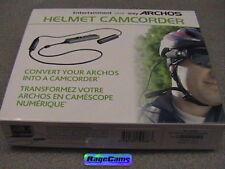 ARCHOS 5 HELMET CAM CAMERA CAMCORDER ANDROID CUPCAKE