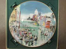 "Royal Doulton ""Venice"" by Dong Kingman (1977) Collectors Plate"