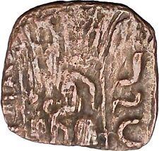 AZILISES 85BC INDO SKYTHIAN King Horse Hercules Ancient Greek Coin India i47067