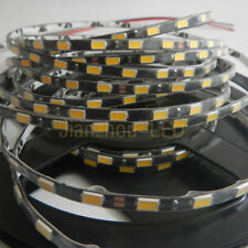 Black 5630 5M 300 LED Strip Light 5mm RED/Green/Blue/Pink/White Waterproof 12V