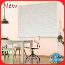 "Hampton Bay Cordless 9/16"" Room Darken Vinyl Blind Actual Size 27.5"" x 48"" R24"
