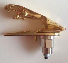 JAGUAR LEAPING CAT GOLD PLATED METAL BONNET HOOD EMBLEM BADGE for XF XK XJR J