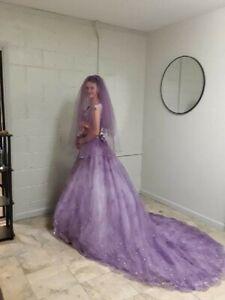 Ball Gown Purple Wedding Dresses For Sale Ebay