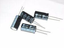 10 Pcs 680uF 50V 12 X 25 Radial Electrolytic Capacitor 85C 20%