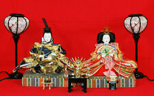 Dolls displayed at Girls' Festival (Japanese noble clothes of 8-12 centuries)