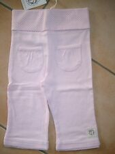 (h600) Bellybutton Baby pantaloni larghe federale + TASCHE ANTERIORI & logo ricamate taglia 62.